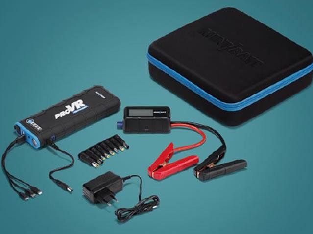 20,000 mAh battery jump starter + charger