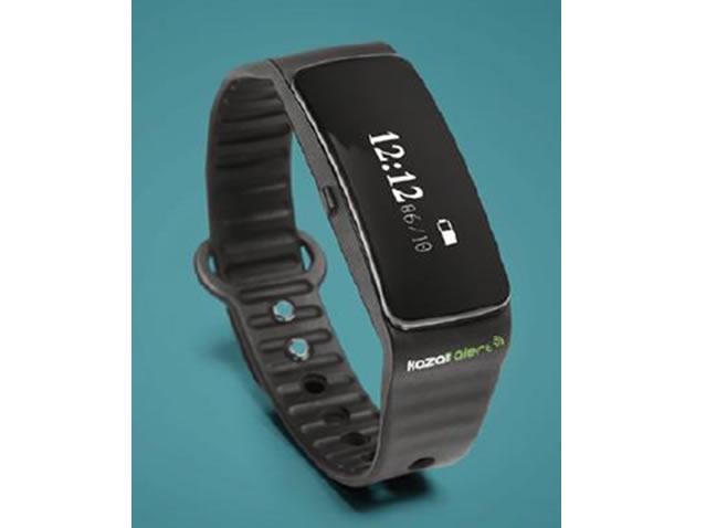 Speed camera warning wristband - Kaza