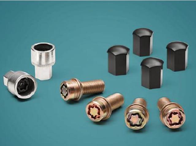 Anti-theft screws for rims