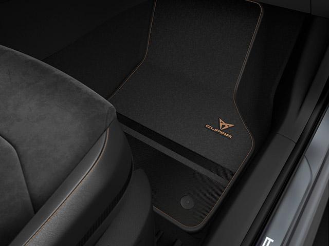 CUPRA Carbon Fibre mats - Right-hand drive