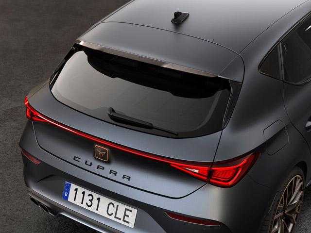 Roof Spoiler Carbon Fibre Copper